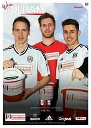Fulham v Birmingham 2017/18 issue Fulham v Birmingham 2017/18