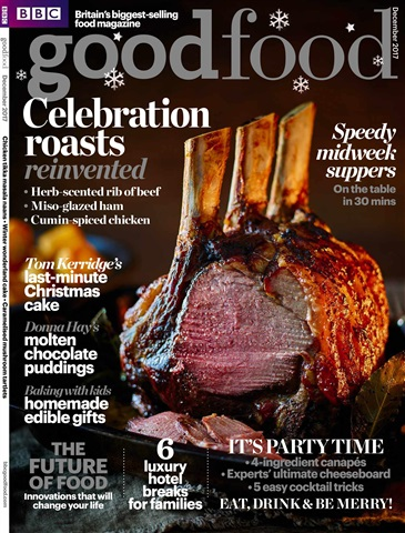 BBC Good Food issue December 2017