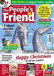 The People's Friend issue 16/12/2017