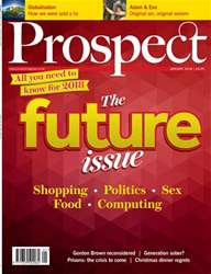 Prospect Magazine issue Jan-18