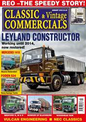 Classic & Vintage Commercials issue January 2018