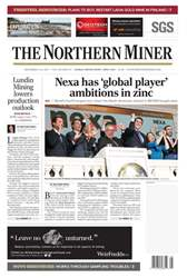 The Northern Miner issue Vol. 103 No. 25