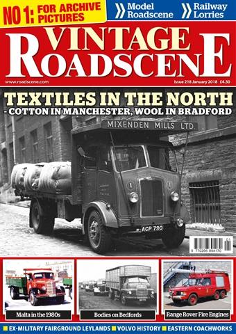 Vintage Roadscene issue January 2018