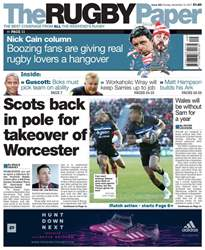 The Rugby Paper issue 10th December 2017