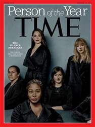 Time Magazine issue 18th December 2017