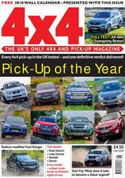 4x4 Magazine incorporating Total Off-Road issue January 2018