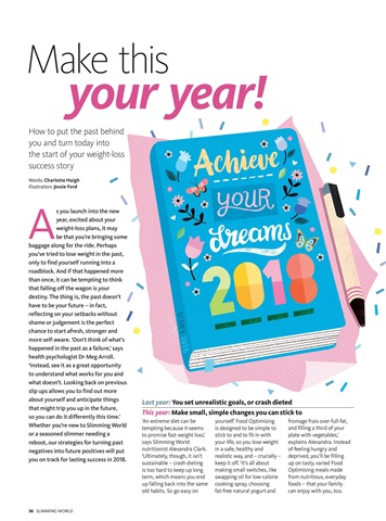Slimming World Magazine - Jan/Feb 2018 Subscriptions ...