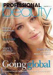 Professional Beauty August 2011 issue Professional Beauty August 2011