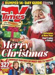 TV Times issue 23rd December 2017