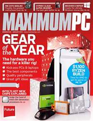 Maximum PC issue January 2018