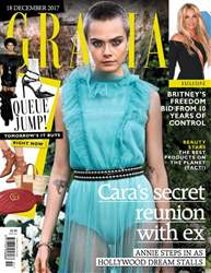 Grazia issue 18th December 2017