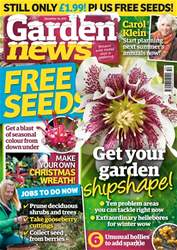 Garden News issue 16th December 2017