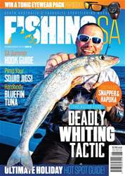 Fishing SA Dec/Jan 2017-18 issue Fishing SA Dec/Jan 2017-18