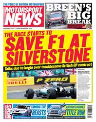 Motorsport News issue 13th December 2017