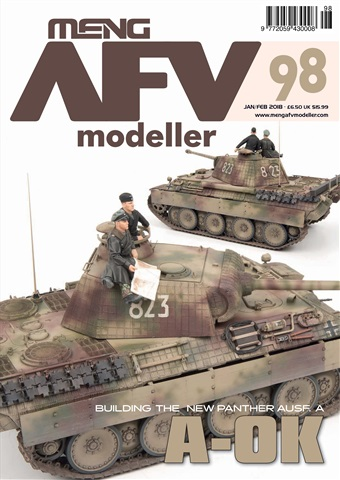 Meng AFV Modeller issue 98
