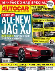 Autocar issue 13th December 2017