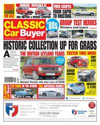 Classic Car Buyer issue 13 December 2017
