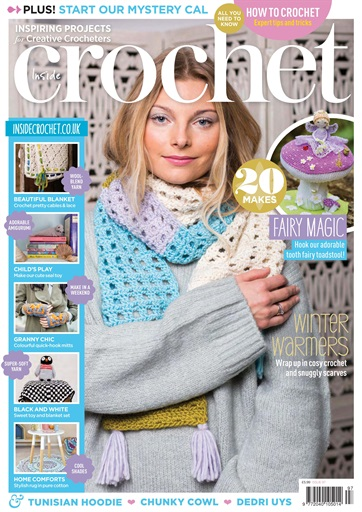 Inside Crochet Magazine Issue 97 Subscriptions Pocketmags