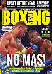 Boxing News issue 12/12/2017