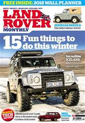 Land Rover Monthly issue Winter 2018