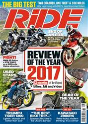 Ride issue February 2018
