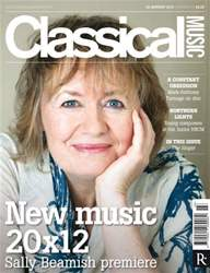 Classical Music 28 January 2012 issue Classical Music 28 January 2012
