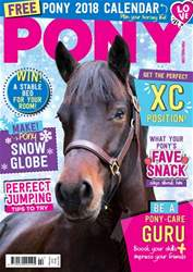 PONY magazine – February 2018 issue PONY magazine – February 2018