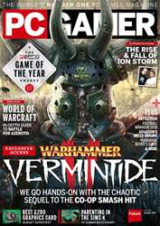 PC Gamer (UK Edition) issue January 2018