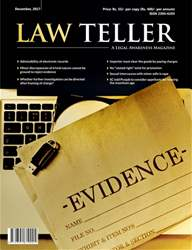 Lawteller – A Legal Awareness Magazine issue December 2017