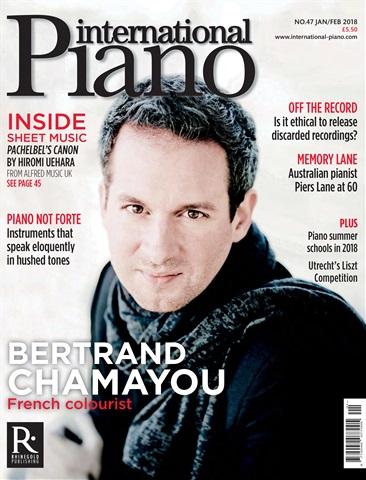 International Piano issue Jan - Feb 2018