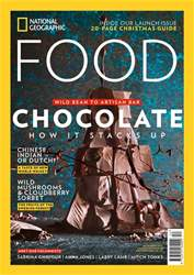 National Geographic Food (UK) Magazine Cover