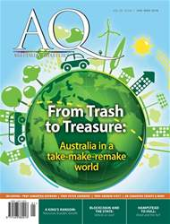 AQ: Australian Quarterly 89.1 issue AQ: Australian Quarterly 89.1