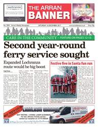 Arran Banner issue 16th December 2017