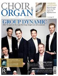 Choir & Organ issue Jan - Feb 2017/18