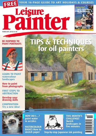 Leisure Painter issue Feb-18