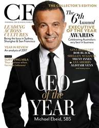 The CEO Magazine ANZ issue Jan/Feb 2018