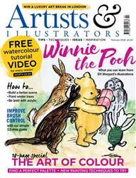 Artists & Illustrators issue February 2018