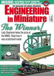 Engineering in Miniature issue January 2018