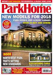 Park Home & Holiday Caravan issue New Models Special 2018