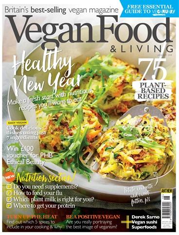 Vegan Food & Living issue Jan