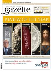 Antiques Trade Gazette issue 2322
