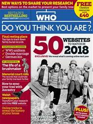 Who Do You Think You Are? issue January 2018
