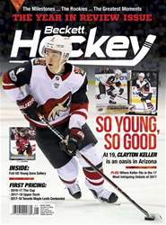 Beckett Hockey issue January 2018