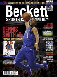 Sports Card Monthly issue January 2018
