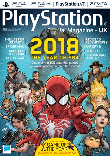 Playstation Official Magazine (UK Edition) - January 2018 ...