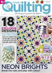 Love Patchwork & Quilting issue Issue 56