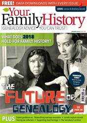Your Family History issue January 2018