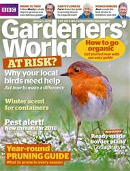 Gardeners' World issue January 2018