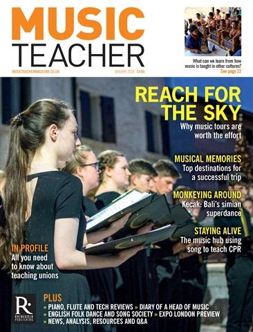 Music Teacher issue January 2018
