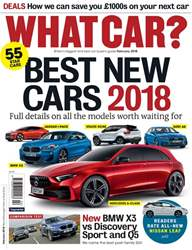 What Car Magazine issue February 2018